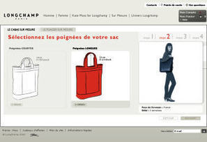 Un sac Longchamp à ses couleurs et initiales | Marketing 1to1 | Scoop.it