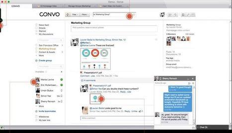 Convo. Une alternative au mail dans l'entreprise - Les Outils Collaboratifs | Les outils du Web 2.0 | Scoop.it