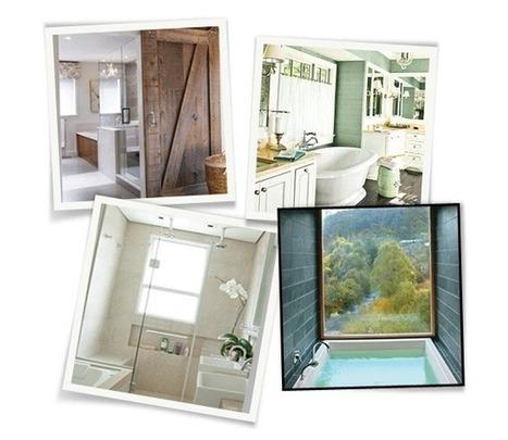 12 idées de rangements malins dans la salle de bain - ELLE Belgique   Accessoires salle de bains   Scoop.it