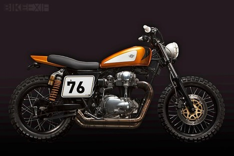 Top 5 Kawasaki W650/W800 customs | Cafe Racers | Scoop.it