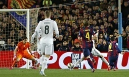 Barça 2-1 Real Madrid: Luis Suárez's sweet strike drives Barcelona past Real Madrid - The Guardian | AC Affairs | Scoop.it