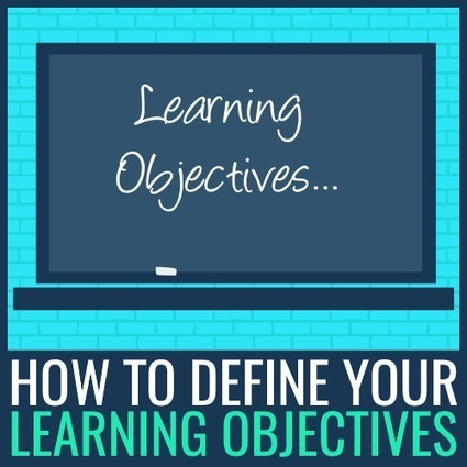 How to Define Your Learning Objectives | Physical Education & Fitness | Scoop.it