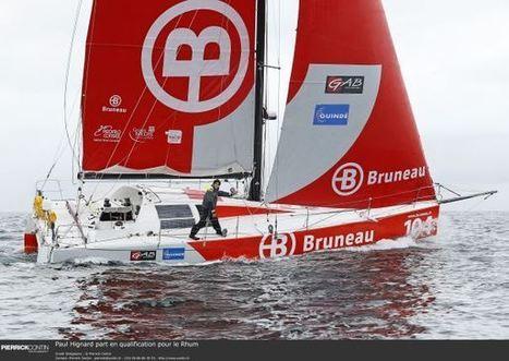 Bruneau et Paul Hignard en route pour le Rhum | Sponsoring Sportif | Scoop.it