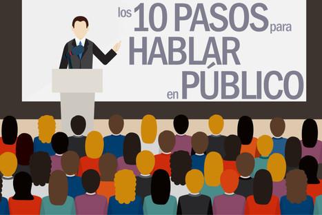 10 técnicas para hablar en público y no desmayarte en el intento | orientación profesional | Scoop.it