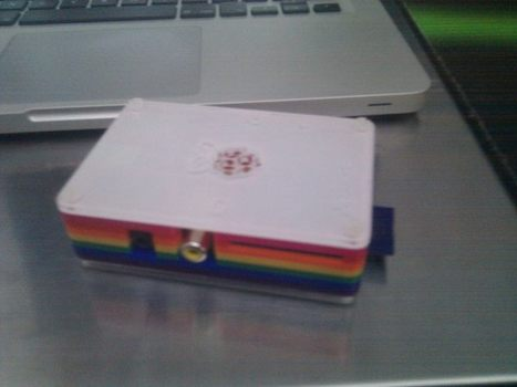 Raspberry Pi case fromage Pibow received ! Just perfect ! #raspberrypi | Raspberry Pi | Scoop.it