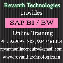 SAP BI/BW online training, SAP BI/BW online training in Hyderabad   Online Training from Hyderabad   Scoop.it