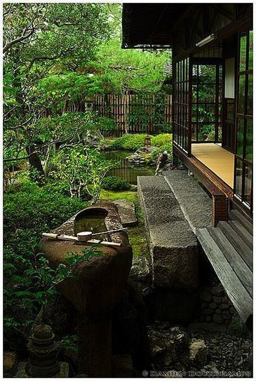 Zen garden in Namikawa Cloisonné, Kyoto - Garden Life   Zen Gardens   Scoop.it