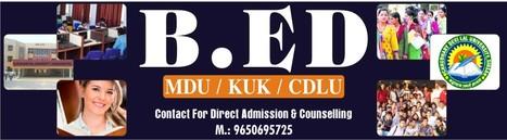 MDU B.Ed Admission Consultant Delhi MDU B.Ed Counseling Center Delhi.   Haryana B.ed Admission   Scoop.it