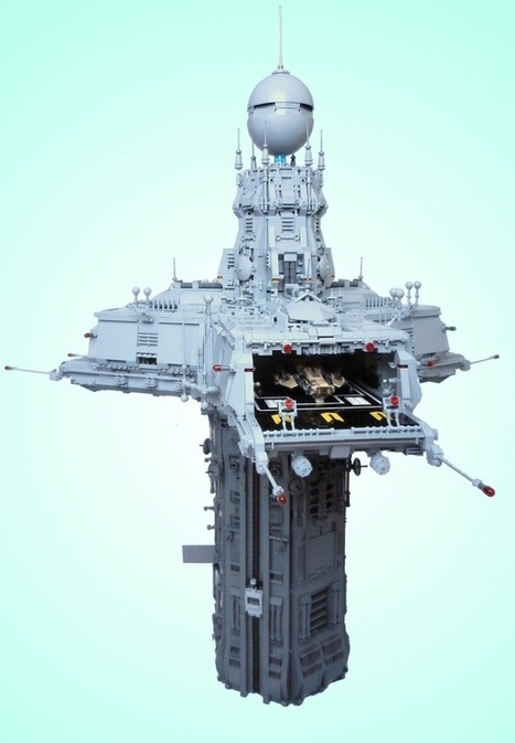 Lego Enthusiast Creates Realistic Lego Space Port | D_sign | Scoop.it