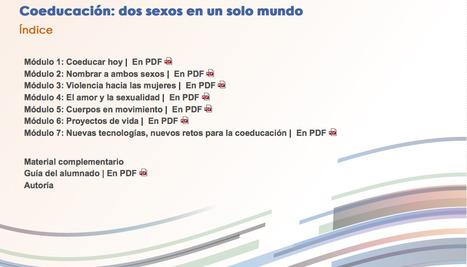 [PDf] Coeducación: dos sexos en un solo mundo | Sensibilització: formació i publicacions | Scoop.it