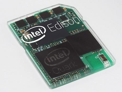 Intel Edison development board, il computer che si indossa - Fabzine.it   Digital fabrication   Scoop.it