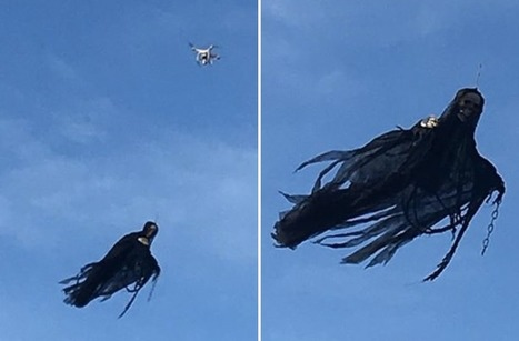 Hero Uncle Terrorizes Public With Drone-Mounted Angel of Death | News we like | Scoop.it