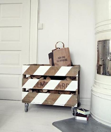 Pallet Firewood Holder | Let's Upcycle! | Scoop.it