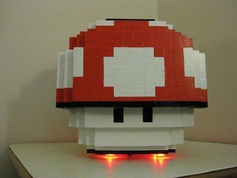 Super Mario Mushroom Case Mod: Power On to Power Up | All Geeks | Scoop.it