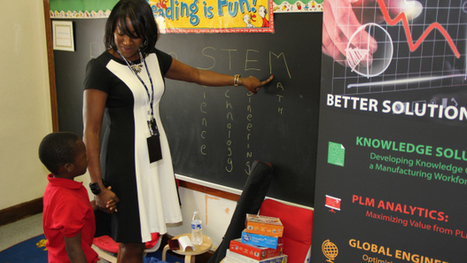 Detroit Lions Join STEM Professionals To Inspire DPS Students - CBS Local | Educ8 Tech | Scoop.it