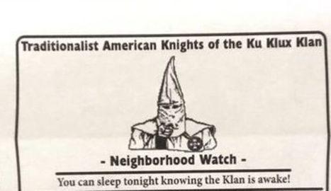 Etats-Unis: le Ku Klux Klan se met aux rondes de quartier | Ku klux klan | Scoop.it