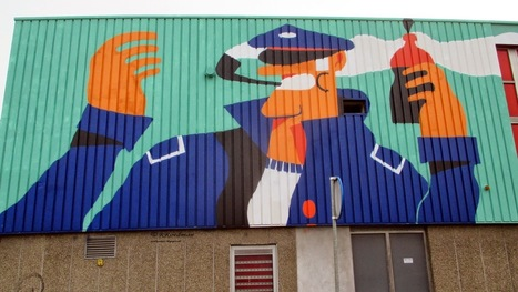 Wall paints, Muurschilderingen, Peintures Murales,Trompe-l'oeil, Graffiti, Murals, Street art. | wallpaintss | Scoop.it