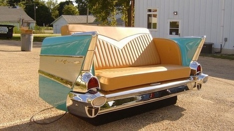 CARS TRANSFORMED INTO  PIECES OF FURNITURE | Interioraholic | Scoop.it