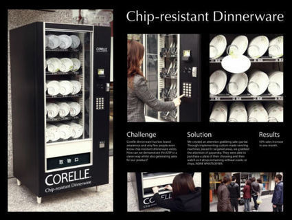 20 Interactive Vending Machines Campaigns | Immersive experience technology | Scoop.it
