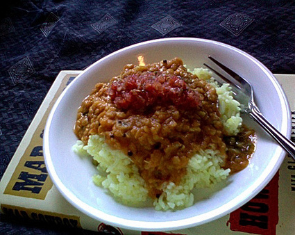 The Vegan Mouse: Lentils and Rice: Quintessential Vegetarian Food. | 64vegan | Scoop.it