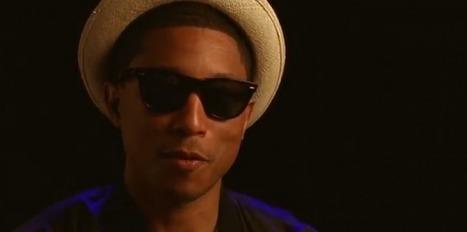 Daft Punk, les confidences de Pharrell Williams | Daft Punk France Columbia | Scoop.it