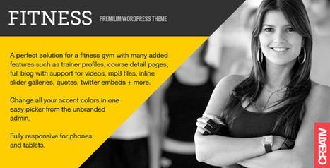 Fitness Premium WordPress Theme   Medical wordpress themes   Scoop.it