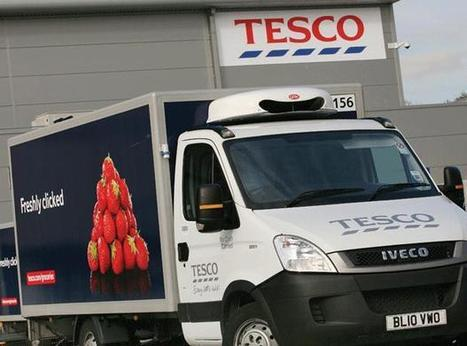 Tesco online delivery keeps going in snow - The Grocer | Tesco Food and Online Grocery | Scoop.it