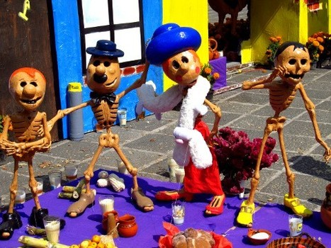 Day of the Dead Images: Coyoacán, Mexico City | Jasmine Wanders | COYOACAN TRAVEL REPORT | Scoop.it