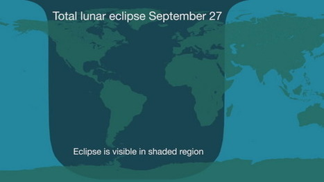 Sunday's 'Supermoon' Total Lunar Eclipse: When and Where to See It | Poetry for inspiration | Scoop.it
