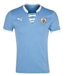 Uruguay Home Replica Soccer Jersey, Uruguay soccer jerseys, Uruguay Soccer Gear, T-Shirts, Uruguay football shirt 2013 | FIFA Confederations Cup Brazil 2013 | Scoop.it