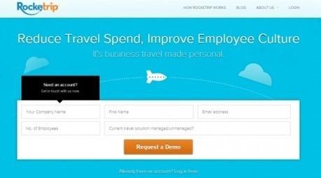 Startup pitch: Rocketrip wants to remove travel management friction | Médias sociaux et tourisme | Scoop.it