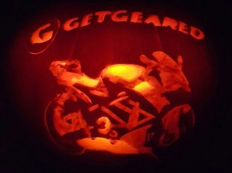How to carve a motorcycle pumpkin | Motorcycle Photos | Scoop.it