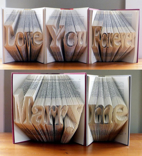 Complementing Fine Arts: Folded Book Sculptures by Luciana Frigerio | Hot gear for home and office | Scoop.it