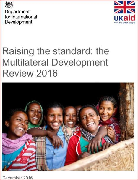 Raising the standard: the Multilateral Development Review 2016 - | Living Health Systems | Scoop.it