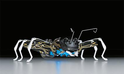 Festo has BionicANTs communicating by the rules for tasks | Post-Sapiens, les êtres technologiques | Scoop.it