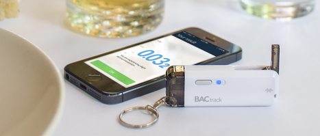 BACtrack releases a $50 smartphone breathalyzer that fits on your keychain | Virtual Interaction | Scoop.it