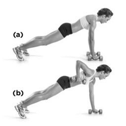Pushup-Position Row   Health and Fitness Magazine   Scoop.it