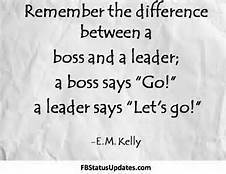 Leader says Let's go!   Leadership Advice & Tips   Scoop.it
