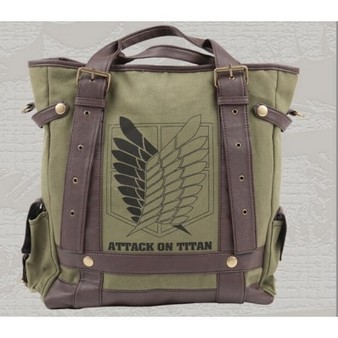 Attack On Titan messenger bag backpack | cosplay costumes | Scoop.it