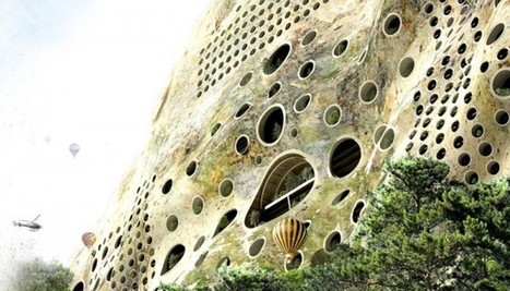 Earth-Shaped City Adapts To Nature's Smart Design - EarthTechling | green streets | Scoop.it