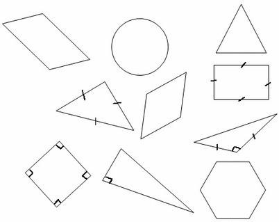 Géométrie, Programme de construction en carte mentale | les cartes mentales dans l'enseignement | Scoop.it