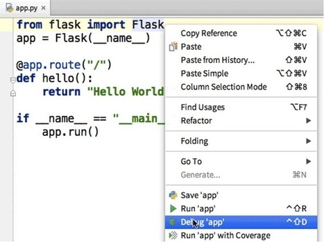 Building ReSTful APIs with Flask in PyCharm - O'Reilly Radar | Python Flask | Scoop.it