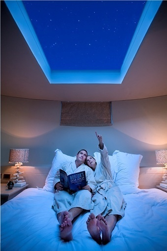 Skylight above bed, so cool, especially for thunderstorms...with a remote black-out blinds for sleeping in.... | I didn't know it was impossible.. and I did it :-) - No sabia que era imposible.. y lo hice :-) | Scoop.it