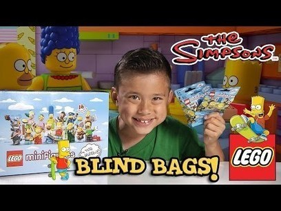 LEGO The SIMPSONS Minifigures! Blind Bag opening PART 1 | EmGoldex | Scoop.it