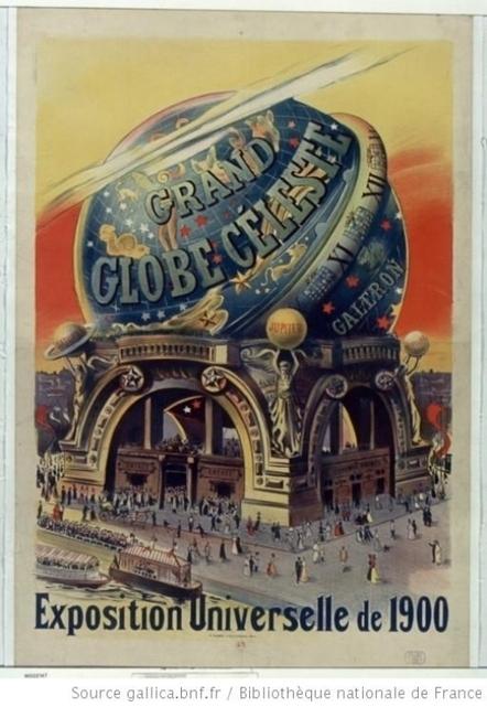 Le Globe Celeste, Paris, 1900 | Auprès de nos Racines - Généalogie | Scoop.it