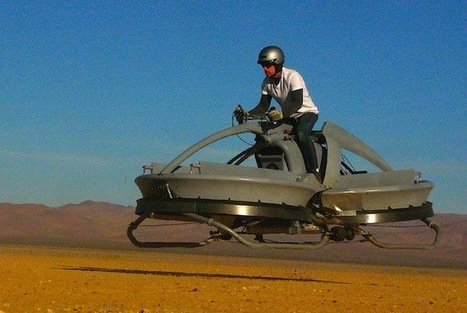 A Working Hover Vehicle Prototype by Aerofex | TechWatch | Scoop.it