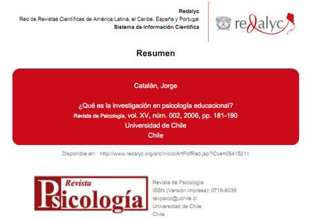 ¿Qué es la investigación en psicología educacional? | Investigación Educativa | Scoop.it