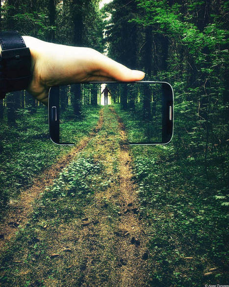 #Photographie : Smartphones Inserted in Daily Places | Photographie, d'ailleurs! | Scoop.it