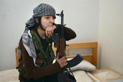 Kurdish women warriors battle in Syria | Coveting Freedom | Scoop.it