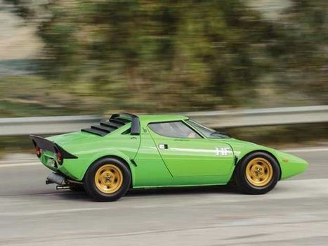 1974 Lancia Stratos HF Stradale | Politically Incorrect | Scoop.it